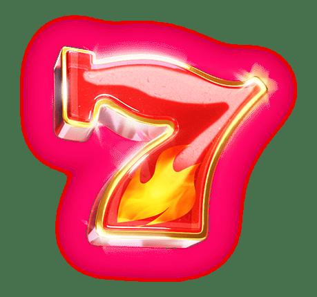 Win Escalator video slot - Seven symbol