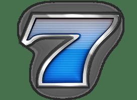 Win Win video slot - Blue seven symbol