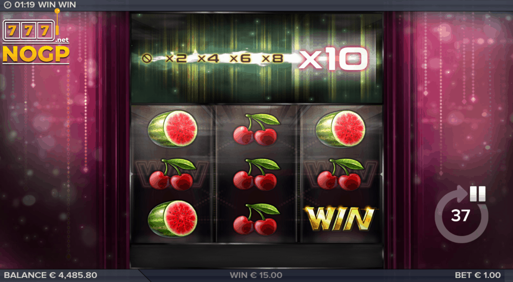 Win Win video slot - Bonus Game feature