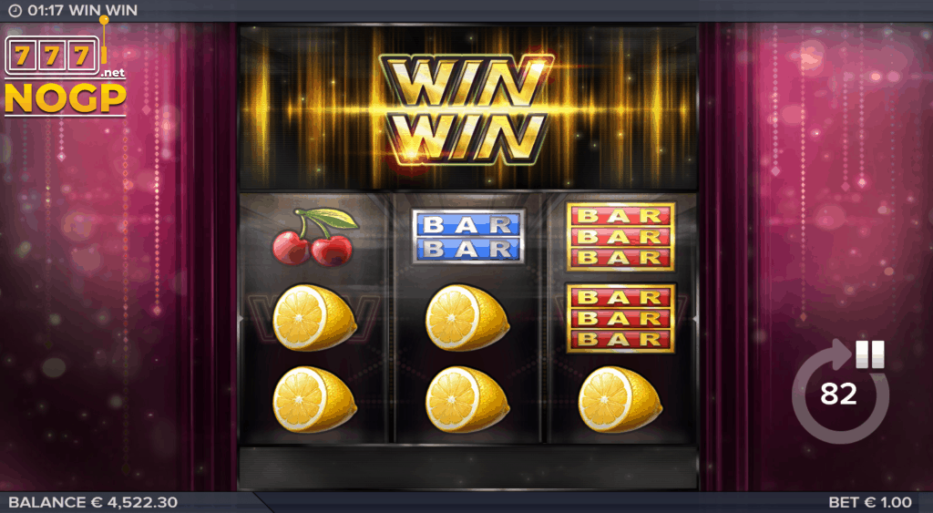 Win Win video slot screenshot