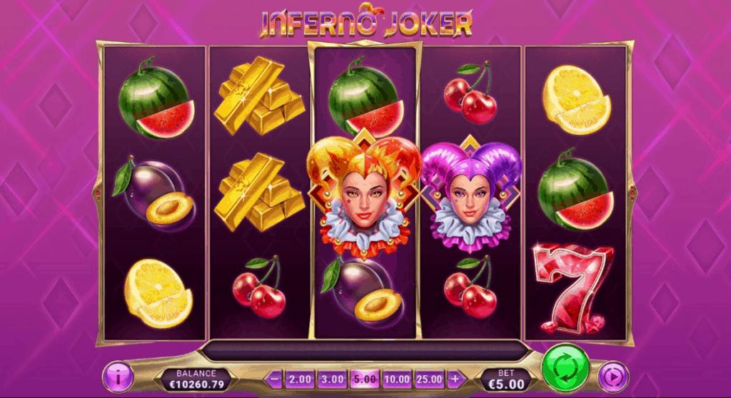 Inferno Joker slot screenshot