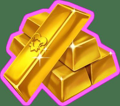 Inferno Joker video slot - Gold bars symbol