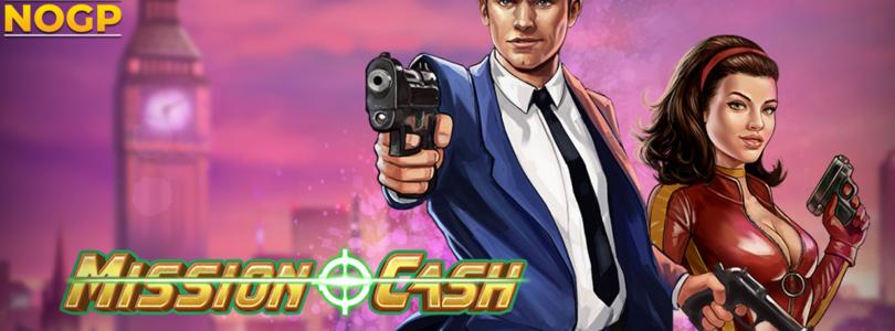 Mission Cash video slot logo