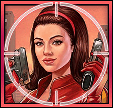Mission Cash video slot - Red Agent symbol