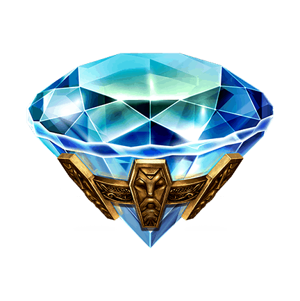 Mystic Wheel video slot - Diamond symbol