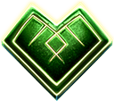 Mystic Wheel video slot - Hearts symbol