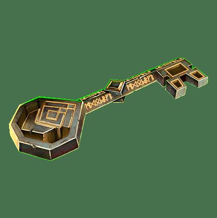 Mystic Wheel video slot - Key symbol