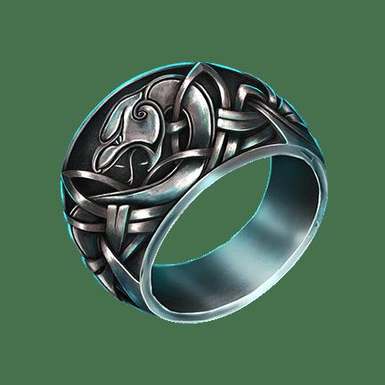 Mystic Wheel video slot - Ring symbol