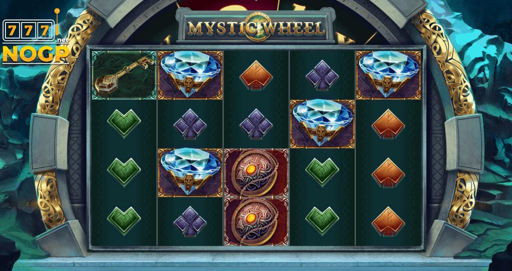 Mystic Wheel video slot screenshot