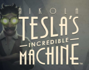 Nikola Tesla's Incredible Machine slot logo