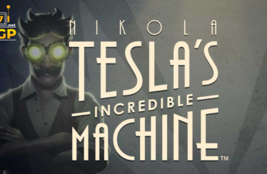 Nikola Tesla's Incredible Machine slot logo