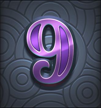 Riders of the Storm video slot - 9 symbol