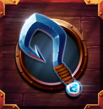 Riders of the Storm video slot - Hook symbol