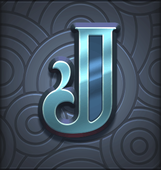 Riders of the Storm video slot - J symbol