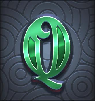 Riders of the Storm video slot - Q symbol