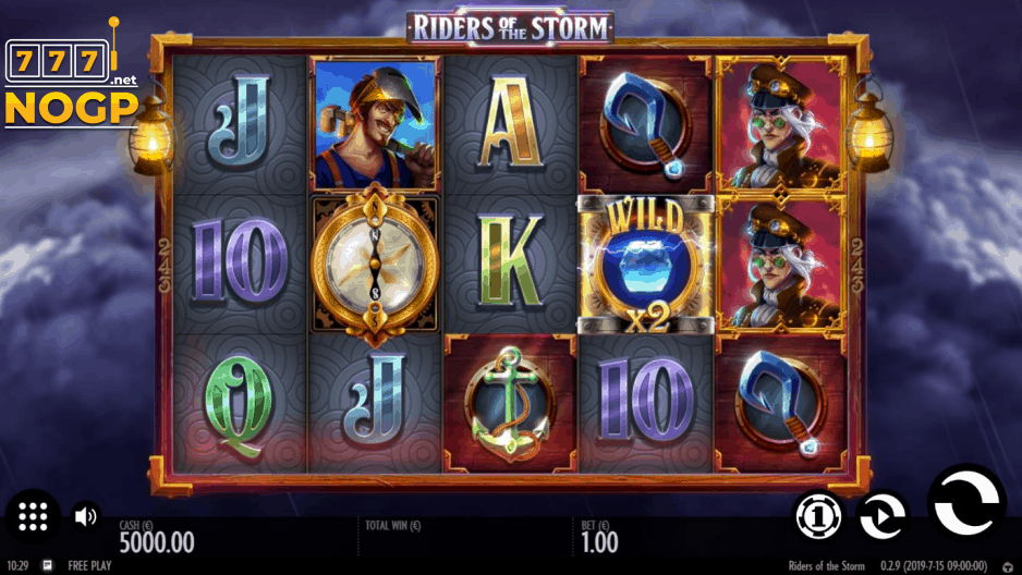Riders of the Storm video slot screenshot