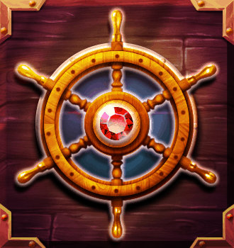 Riders of the Storm video slot - Wheel symbol