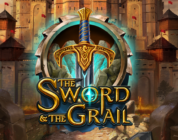 The Sword and the Grail video slot logo