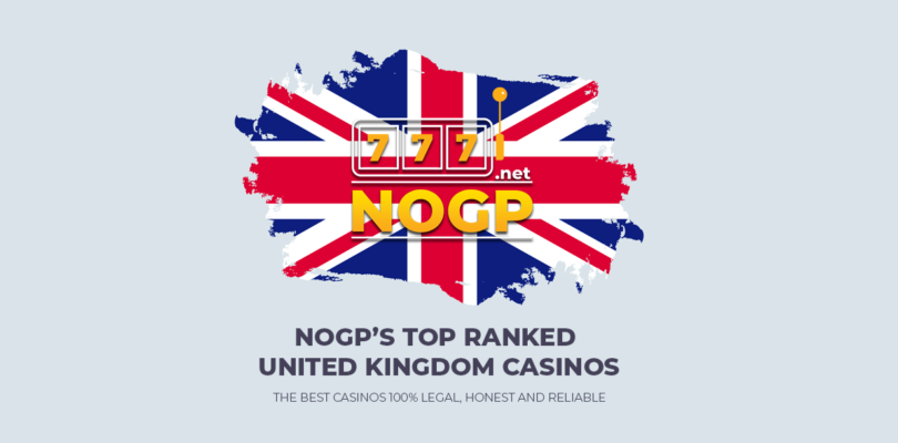 NOGP's best UKGC licensed online casinos for United Kingdom