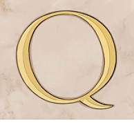 Victorious (MAX) video slot - Q symbol