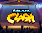 Yokozuna Clash video slot logo