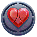 Yokozuna Clash video slot - Hearts symbol