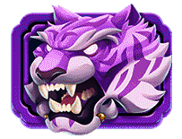 Yokozuna Clash video slot - Purple Tiger symbol