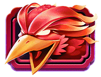 Yokozuna Clash video slot - Red Phoenix symbol