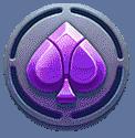 Yokozuna Clash video slot - Spades symbol