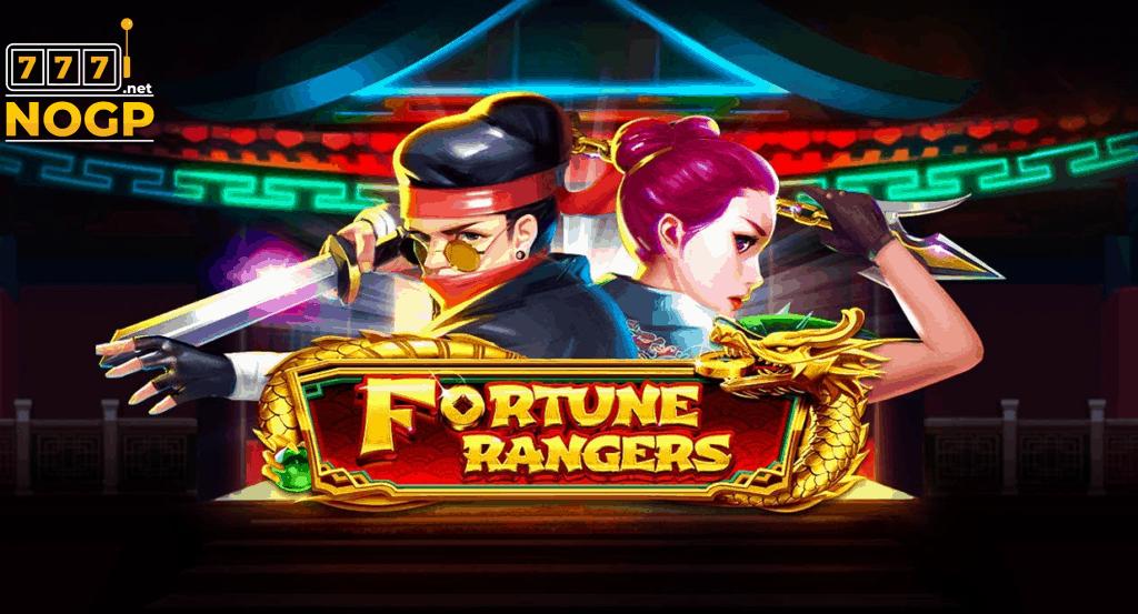 Fortune Rangers video slot logo