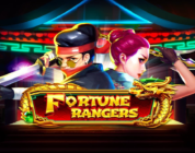 Fortune Rangers video slot logo