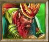 Gods of Olympus video slot - Poseidon symbol