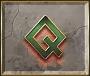 Gods of Olympus video slot - Q symbol
