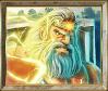 Gods of Olympus megaways slot - Zeus symbol