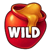 Honey Rush video slot - Wild symbol