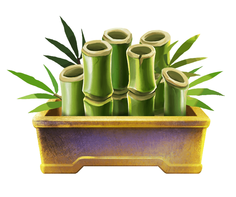 Imperial Riches video slot - Bamboo symbol