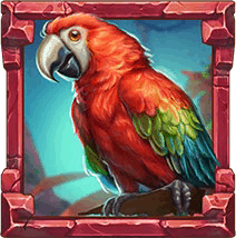 Rainforest Magic video slot - Parrot syMbol