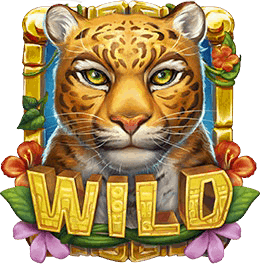 Rainforest magic video slot - wild symbol