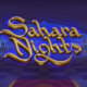 Sahara Nights video slot logo