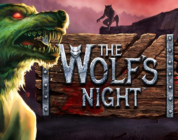 The Wolf's Night video slot logo
