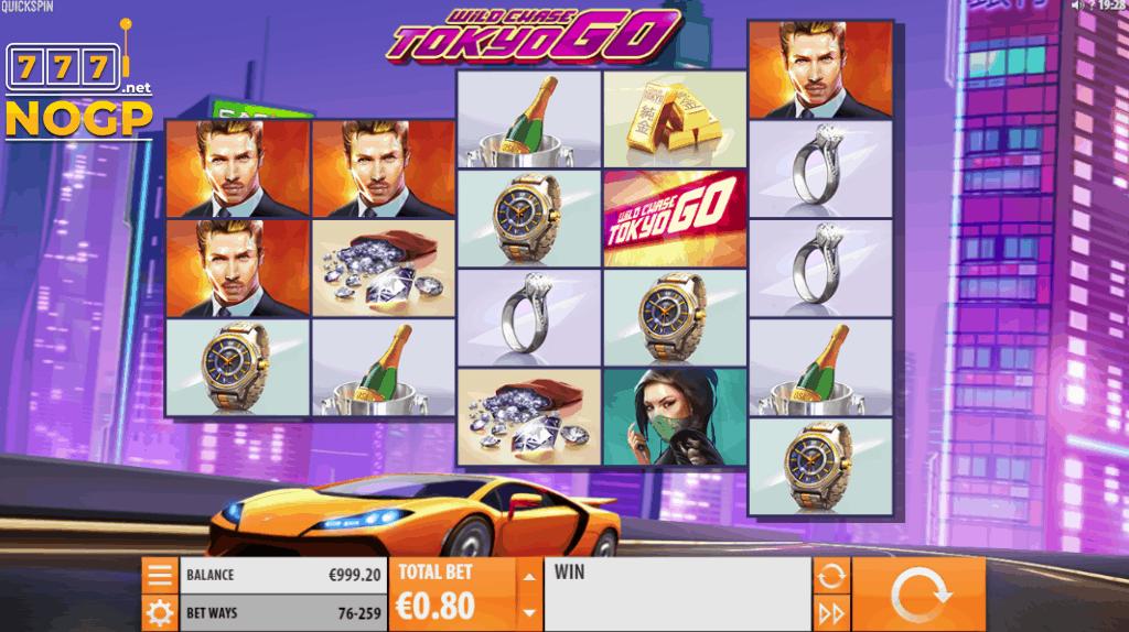 Wild Chase Tokyo Go video slot screenshot