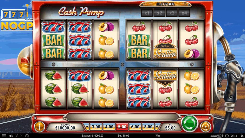 Cash Pump slot screenshot