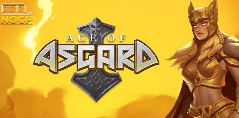 Age of Asgards video slot logo