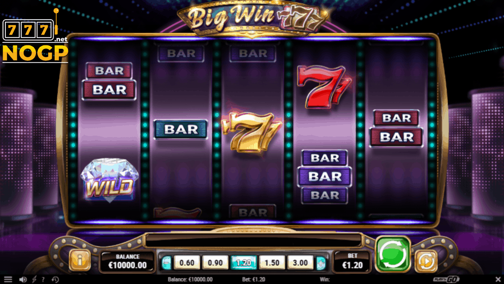 Big Win 777 video slot - Screenshot