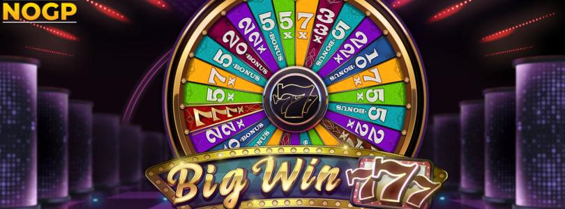 Big Win 777 video slot logo