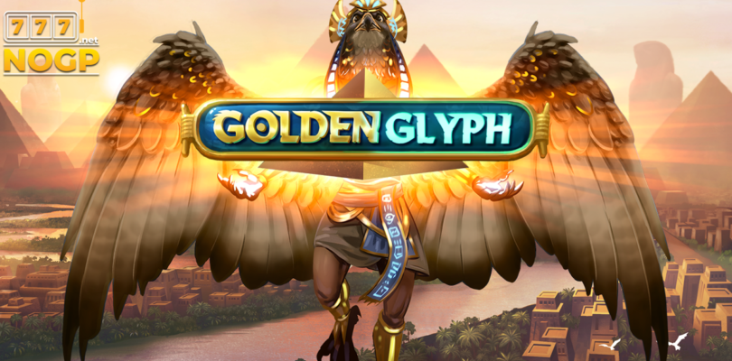 Golden Glyph video slot logo