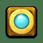 Golden Glyph - Power Wild symbool