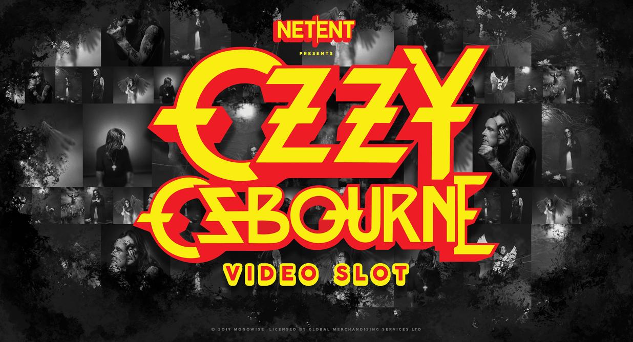 Ozzy Osbourne video slot van NetEnt