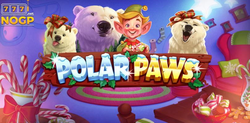 Polar Paws video slot logo