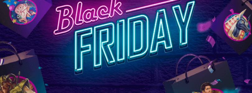 Black Friday en een aantal gratis spins bij 21.com.